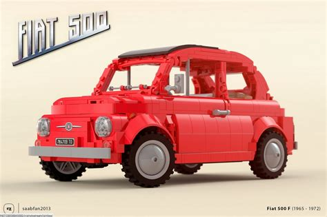 Lego F lego ideas fiat 500 f di gabriele zannotti e saabfan2013