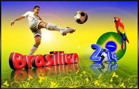 gratis illustration fotboll brasilien vm 2014 vm
