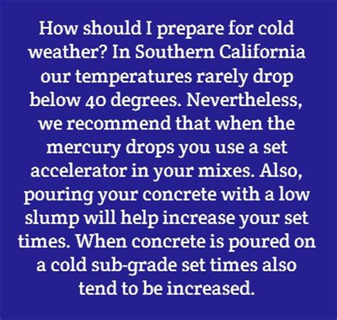 cold times how to prepare for the mini age books 1000 images about concrete faq s on