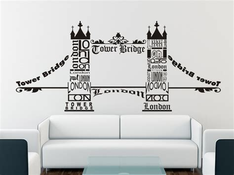 tattoo london bridge wandtattoo london tower bridge wandtattoo wahrzeichen