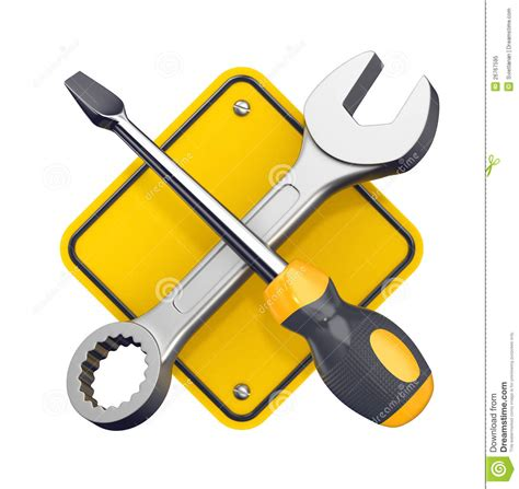 free tool tools sign royalty free stock photo image 26767595