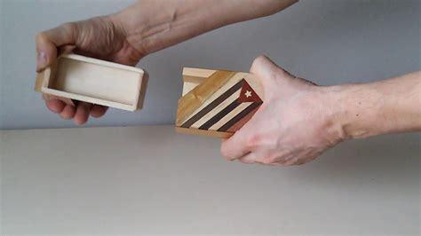 how to box a how to open a magic cuban box как открыть кубинскую