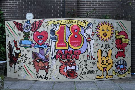 graffiti wallpaper argos graffiti artists create twitter wall for lynx africa s