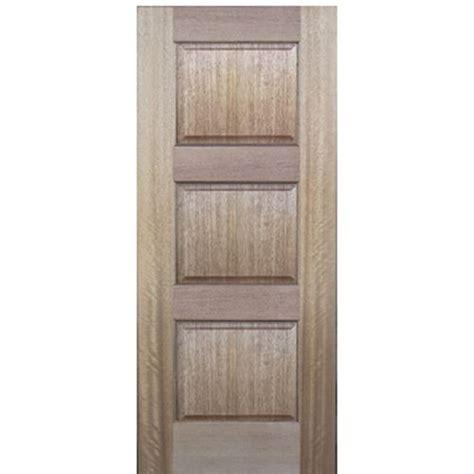 3 Panel Exterior Door Glasscraft Mah 3 Panel 3 Panel Mahogany Wood Entry Door 80 Quot