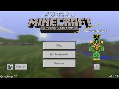 minecraft pe 1 0 0 apk minecraft pe 0 15 0 mcpe 0 15 0 alpha bulid 1 apk released gameplay pocket edition