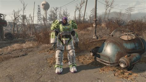 nuevas imagenes fallout 4 fallout 4 gets buzz lightyear power armor mod gamespot
