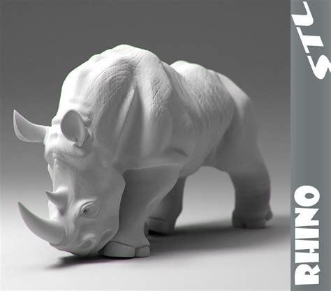 rhino stl  model  printable obj stl cgtradercom