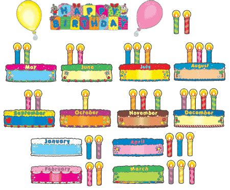 birthday bulletin board templates birthday charts images new calendar template site