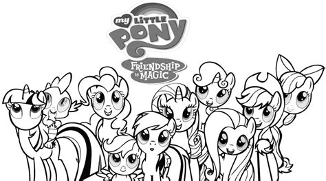 my little pony coloring pages all ponies my little pony coloring pages coloring pages for kids