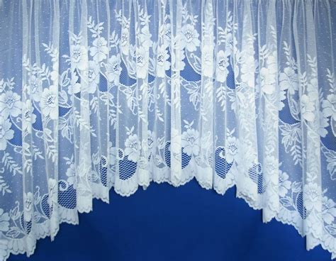 nottingham lace curtains verona white jardiniere nottingham lace inspired net