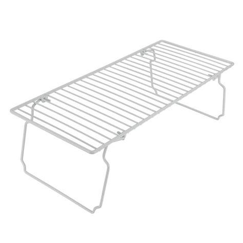Shelf Space Saver metaltex space saver shelf white from ocado