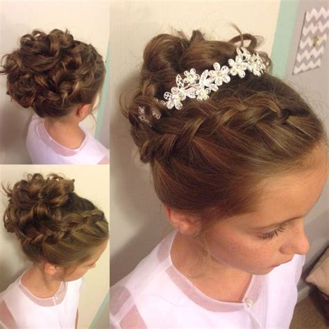 little girl hairstyles updo hairstyles for flower girl with short hair google search