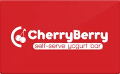 buy cherry berry gift cards raise - Cherry Berry Gift Card