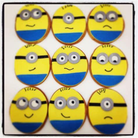 minion cookies creative sweet treats
