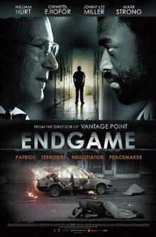 Or The Endgame Endgame 2009