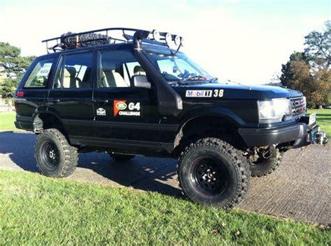 range rover p38 lift kit road p38 4 0l se it has a 3 a half suspension lift
