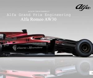 design talent showcase alfa romeo aw30 by olcay tuncay