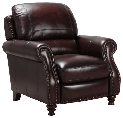 traditional leather recliner simon li traditional leather recliner traditional