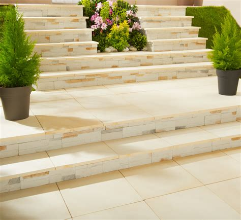 Eco Friendly Home modulesca outside stair case customize with tiles stones