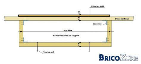 Construire Une Estrade by Structure Portante Pour Quot Estrade Quot