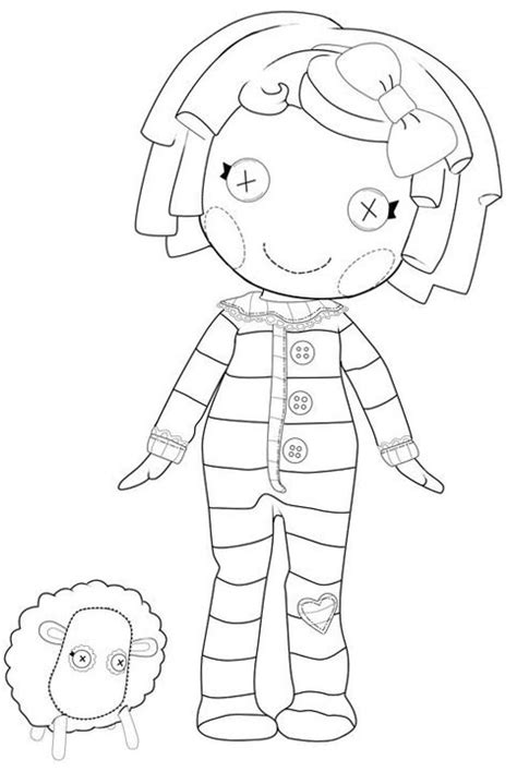 lalaloopsy coloring pages baby lalaloopsy coloring pages for girls to print for free