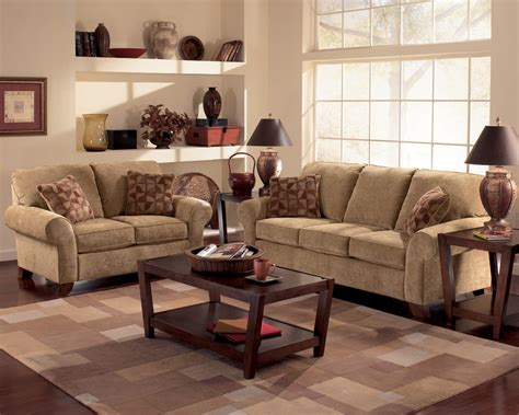 loveseat and ottoman set townhouse tawny sofa loveseat and chair set sofas