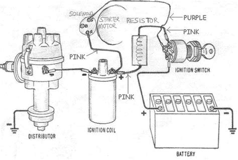 distributor wire diagram