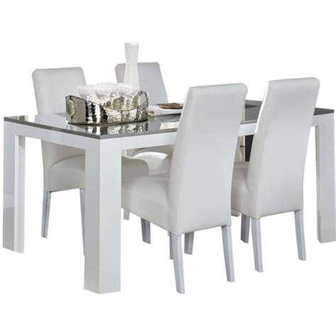 table de cuisine but magasin table salle 224 manger blanc et gris taupe laqu 233 lita pas