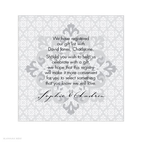 The Buckle Gift Card - alannah rose wedding invitations stationery shop online silver buckle gift