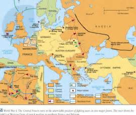 World War Map by Map Of World War 1 Allies And