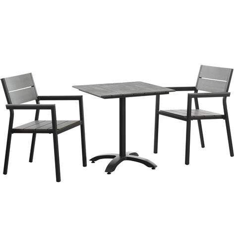 Outdoor Dining Set 3 Maine 3 Outdoor Patio Dining Set