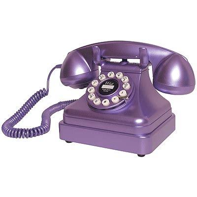 Crosley Desk Phone by Crosley Cr62 1930 039 S Retro Kettle Phone Metallic Purple Ebay