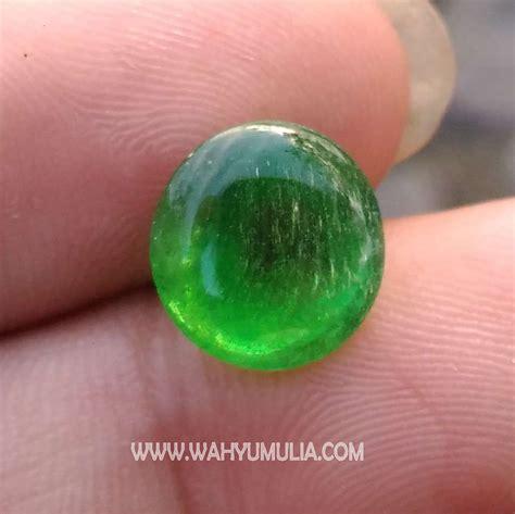 Batu Hijau Green Obsidian batu jamrud kalimantan kode 394 wahyu mulia