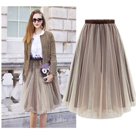 s fashion organza tulle skirt skirts womens