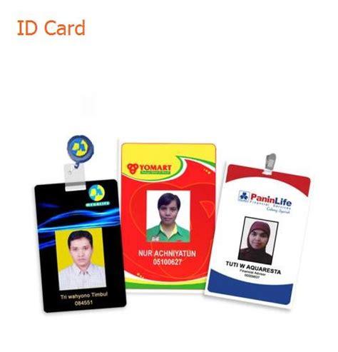 The Card Kartu Timbul id card kartu anggota kartu pelajar percetakan majalengka