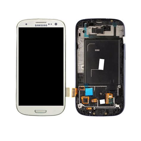 Lcd Samsung S3 I9300 Tela Display Lcd Touch Samsung S3 I9300 Pelicula R