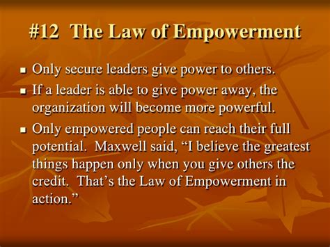 law of solid ground 6 of 21 irrefutable laws of leadership the