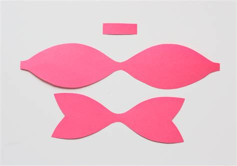 How To Make A Bow With Paper - search results for paper cut out bow calendar 2015