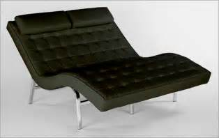 Black Leather Chaise Lounge Chairs Pavillion Ii Leather Lounge Chair