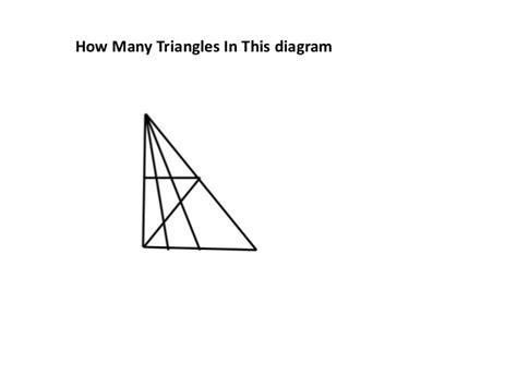 how many triangles are there in this diagram let s count how many triangles