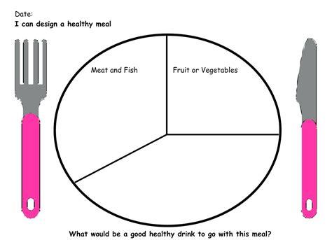 Diagram Blank Food Plate Diagram Health Phlet Template