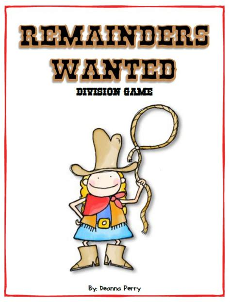 printable division games with remainders division games remainders and long division on pinterest