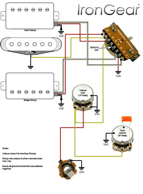 strat with 3 way switch wiring diagram get free image