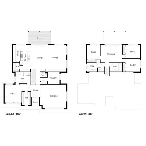 floor plans for sloping blocks amazing house floor plans sloping blocks ideas best idea