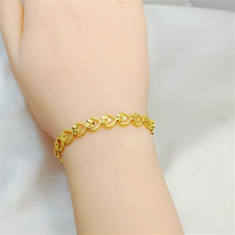 New Trend 24k Gold by Korean Fashion Trend Of The New Bracelet