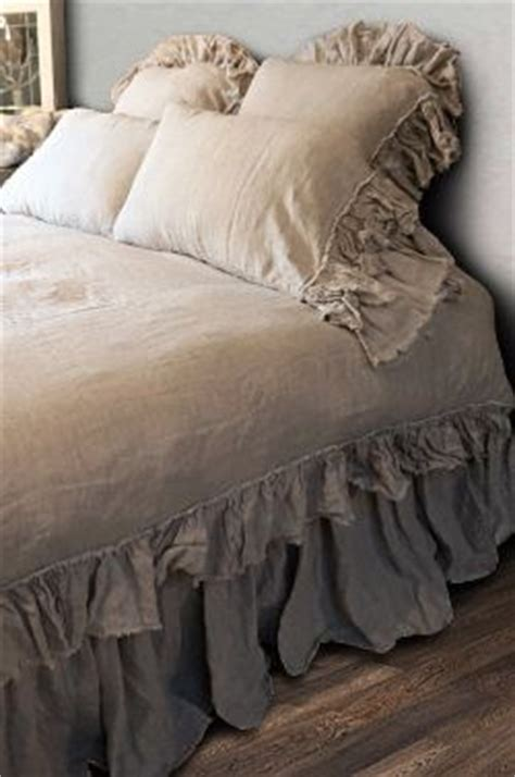 tan ruffle comforter 1000 ideas about shabby chic beds on pinterest shabby