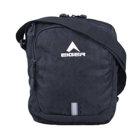 Tas Slempang Eiger 7393 jual eiger travel pouch special request tas selempang hitam harga kualitas terjamin