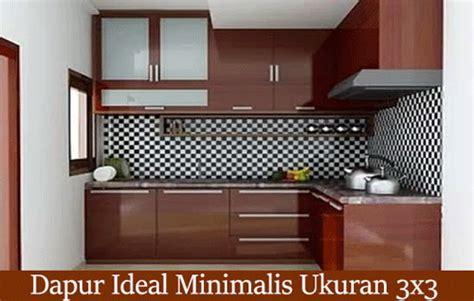 inilah faktor menjadi ukuran ideal sebuah ruangan dapur