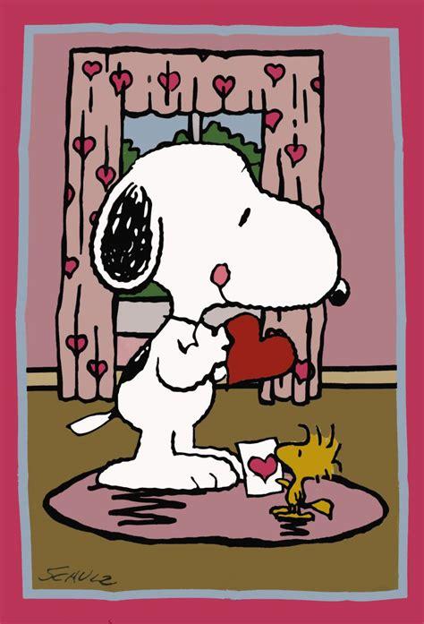 peanuts valentines peanuts s day flag snoopn4pnuts