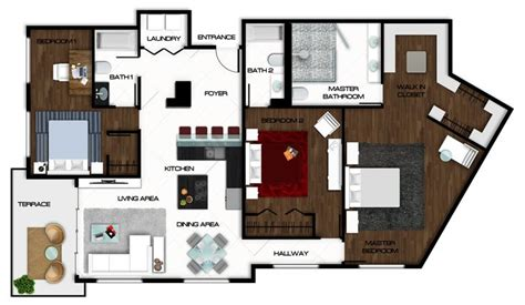 rendered floor plan autocad floor plan rendered in photoshop rendered floor plans photoshop floor
